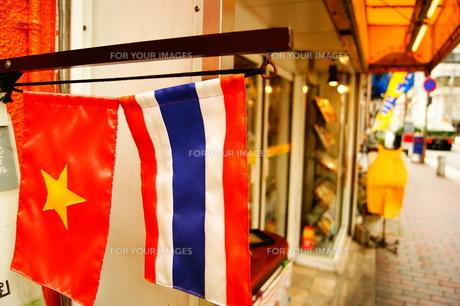 国旗の写真素材 [FYI00121846]