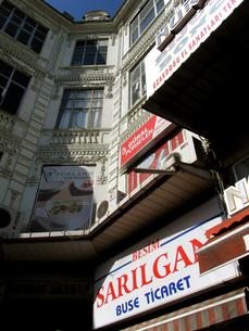 トルコのイスタンブールの建物の写真素材 [FYI00121859]