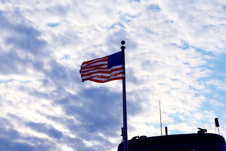 星条旗の写真素材 [FYI00122170]