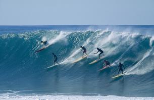 サーフィンの写真素材 [FYI00122254]