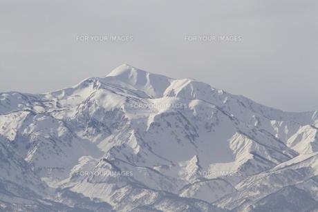 雪山の写真素材 [FYI00122330]