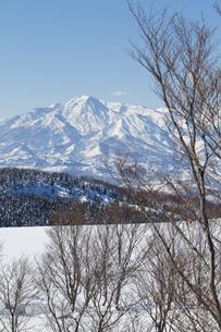 雪山の写真素材 [FYI00122357]
