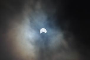 日食の素材 [FYI00122697]