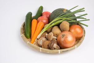 野菜の盛り合わせの写真素材 [FYI00122808]
