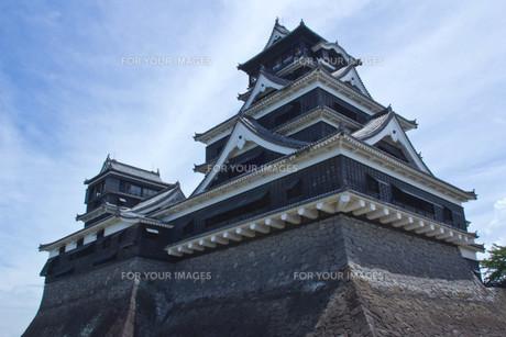 熊本城の写真素材 [FYI00122857]