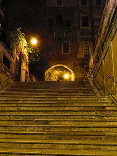 ローマの階段の写真素材 [FYI00123012]