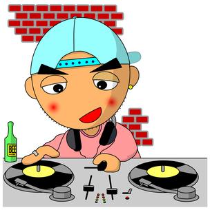 DJ君の写真素材 [FYI00123302]