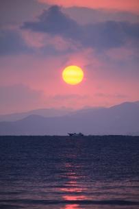 漁の始まりの写真素材 [FYI00123478]