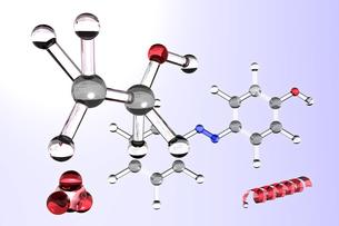 分子モデルの写真素材 [FYI00123693]
