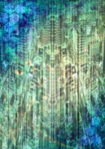 cyber worldの写真素材 [FYI00123710]
