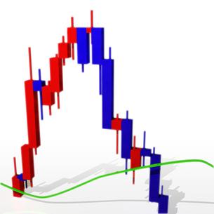 株のチャートの写真素材 [FYI00123726]
