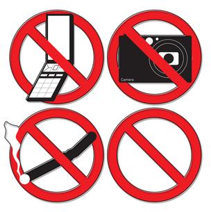 禁止の写真素材 [FYI00123750]