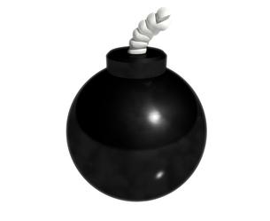 爆弾の写真素材 [FYI00123763]