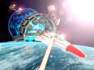 宇宙戦争の写真素材 [FYI00123770]