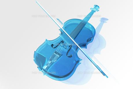 クリスタルヴァイオリンの写真素材 [FYI00123774]