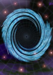 壁紙ブラックホールの写真素材 [FYI00123798]