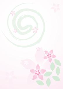 壁紙桜の写真素材 [FYI00123802]
