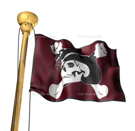 海賊旗の写真素材 [FYI00123826]
