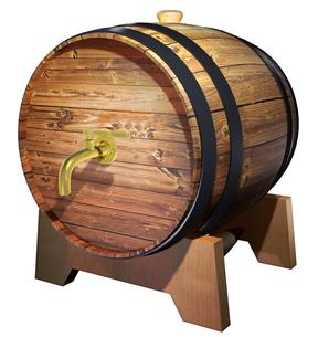 酒樽の写真素材 [FYI00123875]