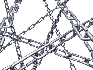 鎖の写真素材 [FYI00123888]