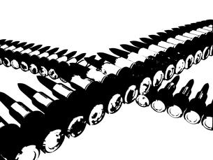 ガトリングの弾の写真素材 [FYI00123923]