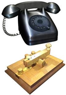 通信機器セットの写真素材 [FYI00123942]