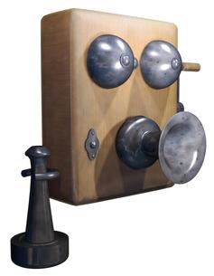 古い電話の写真素材 [FYI00123947]