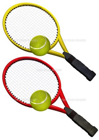 テニスラケットの写真素材 [FYI00123951]