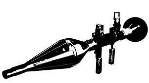 ロケットランチャーの写真素材 [FYI00123958]