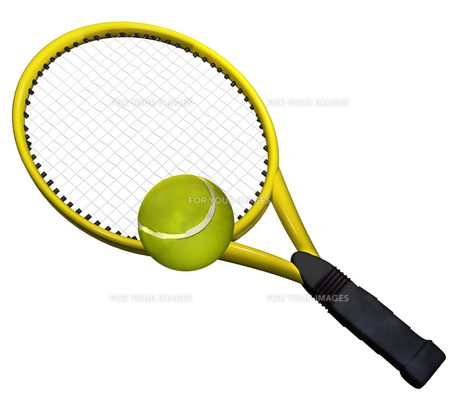 テニスの写真素材 [FYI00123960]