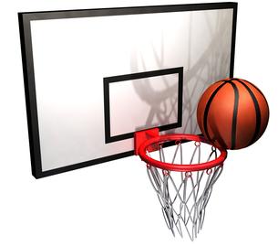 バスケットボールの写真素材 [FYI00123962]