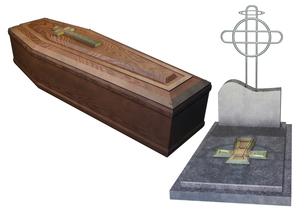 お墓セットの写真素材 [FYI00123978]
