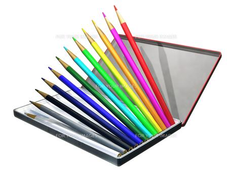 色鉛筆の写真素材 [FYI00123989]