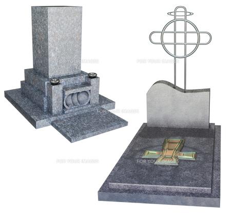 墓セットの写真素材 [FYI00124010]
