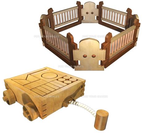子供関係製品セットの写真素材 [FYI00124037]