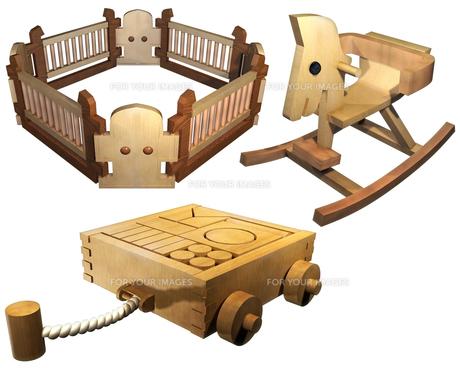 子供のおもちゃセットの写真素材 [FYI00124043]