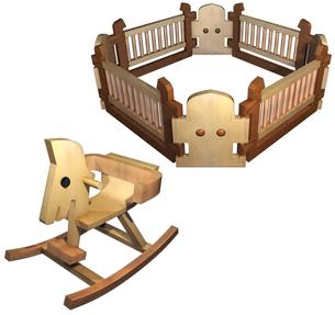 子供のおもちゃセットの写真素材 [FYI00124044]