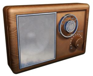昔のラジオの写真素材 [FYI00124087]