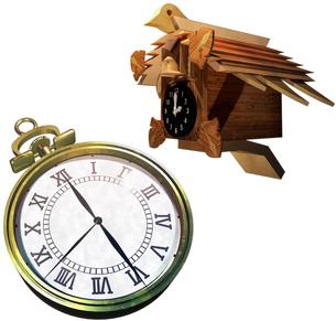 時計セットの写真素材 [FYI00124129]