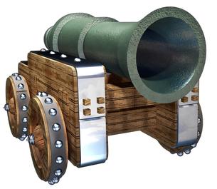 大砲の写真素材 [FYI00124131]