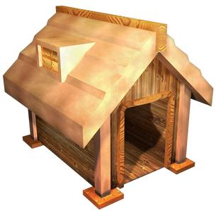 犬小屋の写真素材 [FYI00124132]