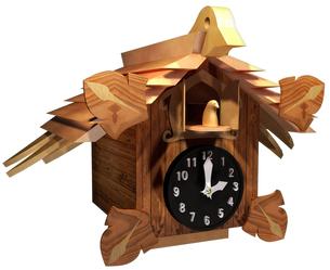 ハト時計の写真素材 [FYI00124133]