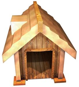 犬小屋の写真素材 [FYI00124139]