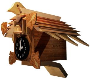 ハト時計の写真素材 [FYI00124145]