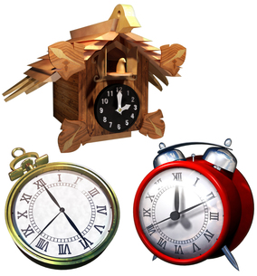 時計セットの写真素材 [FYI00124160]