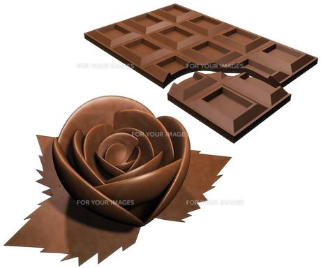 チョコレートの素材 [FYI00124179]
