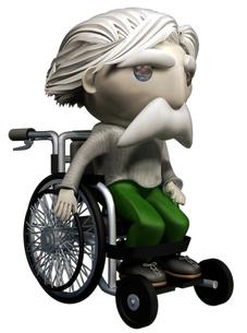 車椅子の写真素材 [FYI00124200]