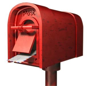 郵便ポストの写真素材 [FYI00124208]