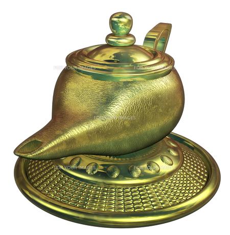 魔法のランプの写真素材 [FYI00124271]