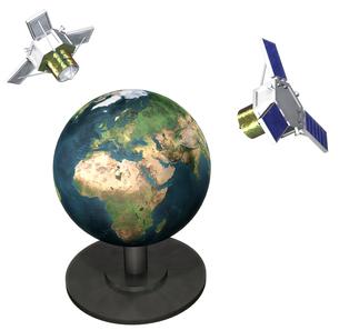 人工衛星の写真素材 [FYI00124285]
